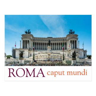 Carte postale gentille de Rome
