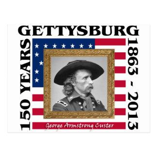 Carte Postale George Custer - 150th anniversaire Gettysburg