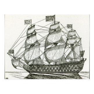 Carte Postale George royal