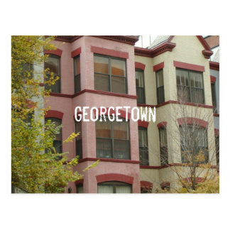 Carte Postale Georgetown