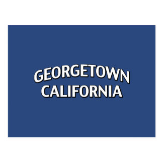 Carte Postale Georgetown la Californie