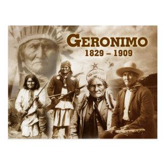 Carte Postale Geronimo du Chiricahua Apache