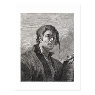 Carte Postale Gerrit van Honthorst (1590-1656), gravé par Cosi