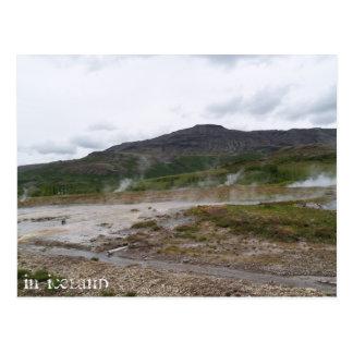 Carte Postale Geysir, Islande