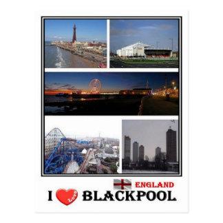 Carte Postale Gigaoctet Angleterre - Blackpool -