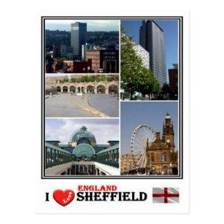 Carte Postale Gigaoctet Angleterre - Yorkshire Sheffield -