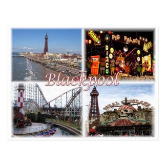 Carte Postale Gigaoctet Royaume-Uni - Angleterre - Blackpool -