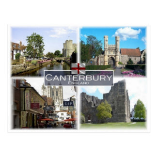 Carte Postale Gigaoctet Royaume-Uni - Angleterre - Cantorbéry -