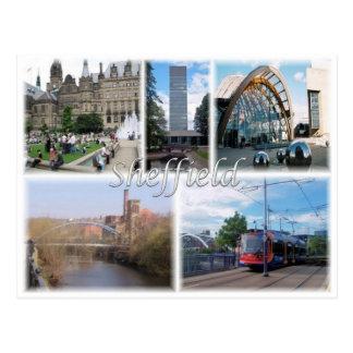 Carte Postale Gigaoctet Royaume-Uni - Angleterre - Sheffield -