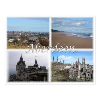 Carte Postale Gigaoctet Royaume-Uni - Ecosse - Aberdeen -