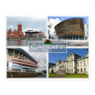Carte Postale Gigaoctet Royaume-Uni - Pays de Galles - Cardiff -