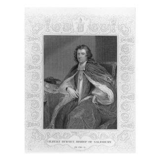 Carte Postale Gilbert Burnet, évêque de Salisbury