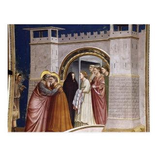 Carte Postale Giotto : La réunion au Golden Gate