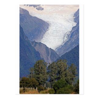Carte Postale Glacier Nouvelle Zélande de Fox
