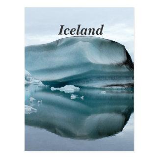 Carte Postale Glaciers de l'Islande