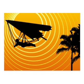 Carte Postale glissement de coup de scène du soleil