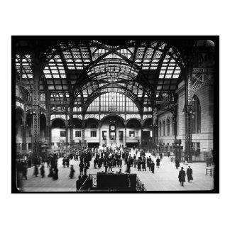 Carte Postale Glissière de lanterne magique de la station NYC