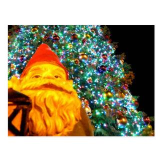Carte Postale Gnome de Joyeux Noël