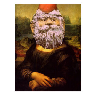 Carte Postale Gnome-UN-Lisa