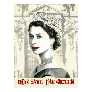 Carte Postale God Save the Queen