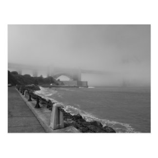 Carte Postale Golden gate bridge brumeux I