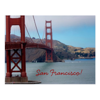 Carte Postale Golden gate bridge, San Francisco !