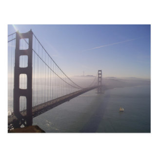 Carte Postale Golden Gate brumeux