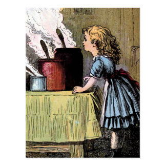 Carte Postale Goldilocks trouve l'illustration de cru de