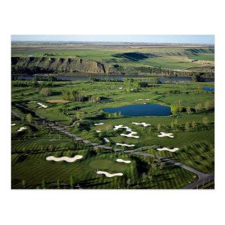 Carte Postale Golf et club national de peuplier, au sud-est de