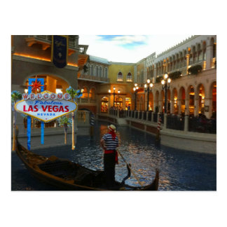 Carte Postale Gondole vénitienne de Las Vegas