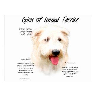 Carte Postale Gorge de conception d'histoire d'Imaal Terrier