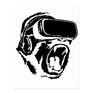 Carte Postale Gorille de VR