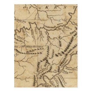 Carte Postale Gouvernement du Tennessee