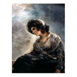 Carte Postale Goya, la trayeuse de pétrole du Bordeaux 182527