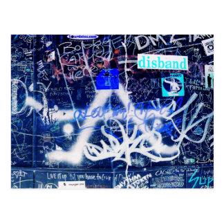 Carte Postale Graffiti de vestiaire