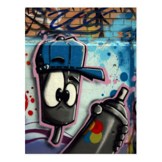 Carte Postale Graffiti suisse