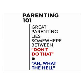 Carte Postale Grand conseil de condition parentale du Parenting