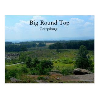 Carte Postale Grand couvercle rond à Gettysburg