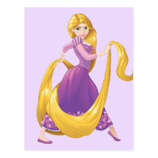 Carte Postale Grand jour de cheveux de Rapunzel  