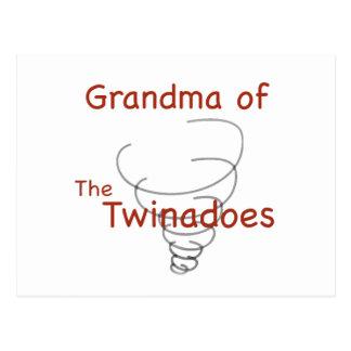 Carte Postale Grand-maman de Twinadoes