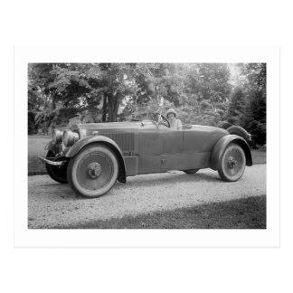 Carte Postale Grande belle voiture, les années 1900 tôt