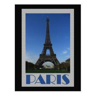 Carte postale grande de Paris