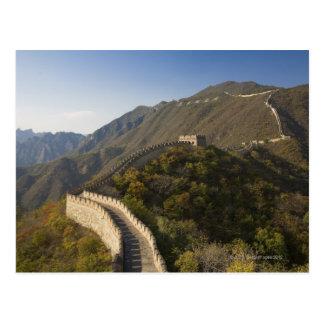 Carte Postale Grande Muraille de la Chine chez Mutianyu 2