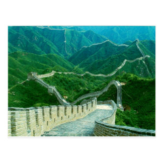 Carte Postale Grande Muraille d'Everywhereness de la Chine