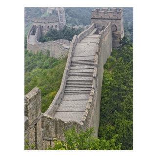 Carte Postale Grande Muraille, Jinshanling, Chine