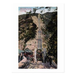 Carte Postale Grande vue de chemin de fer de pente