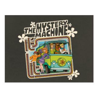 Carte Postale Graphique de machine de mystère a Lit de