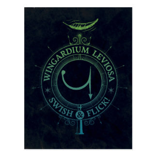 Carte Postale Graphique du charme | Wingardium Leviosa de Harry