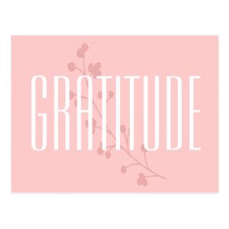 Carte Postale Gratitude