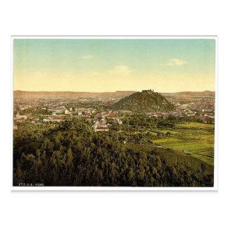 Carte Postale Graz, vue générale du Rainer Kogel, Styrie,